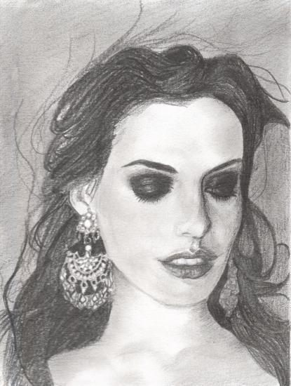 Anne Hathaway by staretheshadow